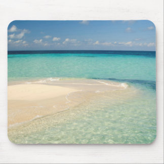 Belize, Caribbean Sea. Goff Caye, A Small Island Mouse Mat