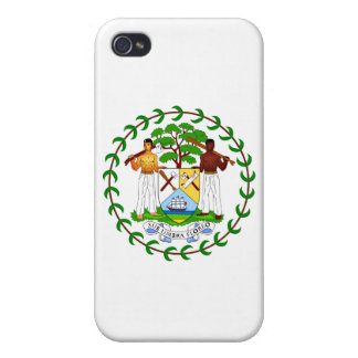 Belize Coat of Arms iPhone 4/4S Covers