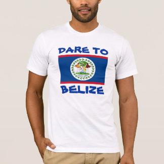 Belize Flag Dare To Belize T-Shirt