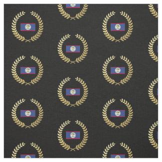 Belize Flag Fabric
