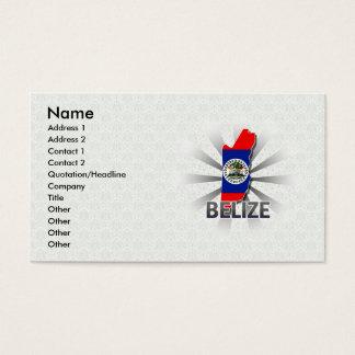 Belize Flag Map 2.0