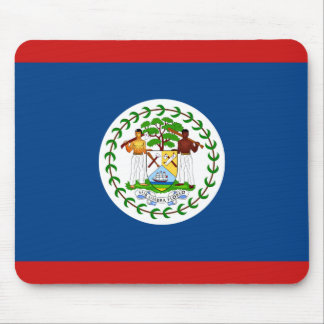 Belize Flag Mousepad