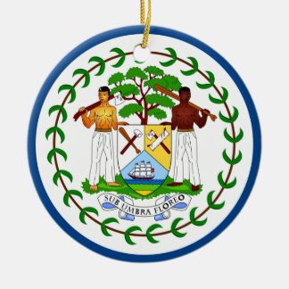 Belize Flag Ornament