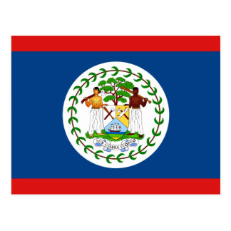 Belize Flag Postcard
