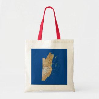 Belize Map Bag
