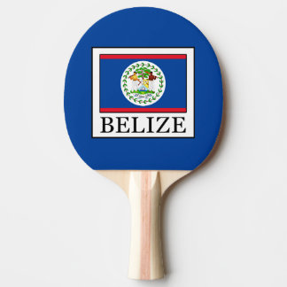 Belize Ping Pong Paddle