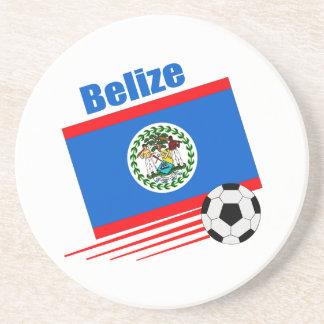 Belize Soccer Team Beverage Coaster