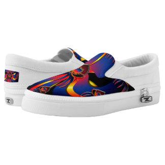 Belizean Black Orchid Shoes