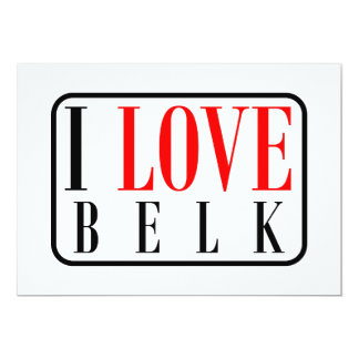 Belk, Alabama City Design 13 Cm X 18 Cm Invitation Card