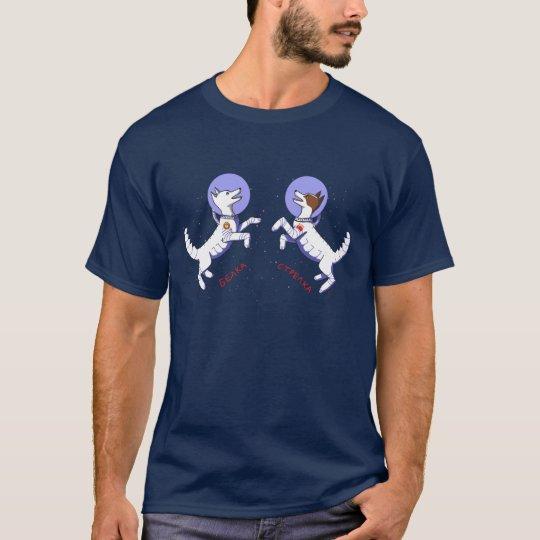 Belka & Strelka Dogs in Space T-Shirt