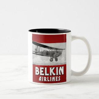 Belkin Airlines mug