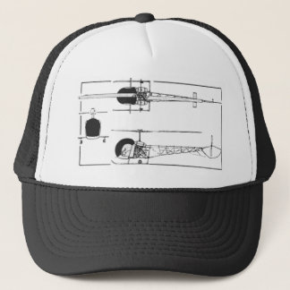 Bell 47 Helicopter Trucker Hat