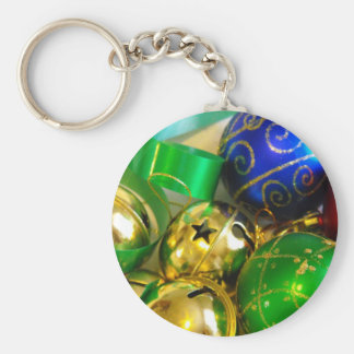 Bell, Balls and Ribbons Key Chain
