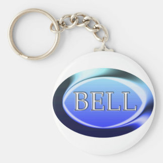 bell basic round button key ring