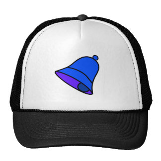 Bell Blue Left 45 deg The MUSEUM Zazzle Gifts Hat
