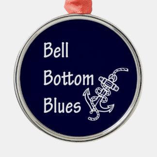 Bell Bottom Blues Christmas Ornament