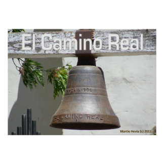 Bell - El Camino Real - Poster