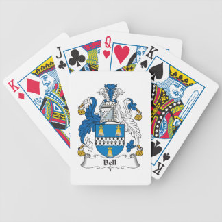 Bell Family Crest Bicycle Playing Cards