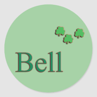 Bell Family Stickers