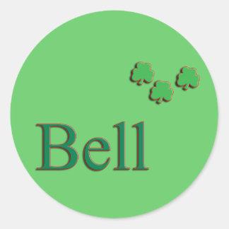 Bell Family Round Sticker