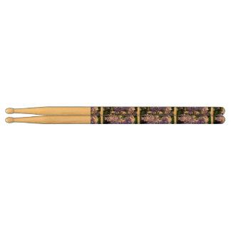 bell-flower-4 drum sticks
