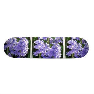 Bell Flower Photo Skateboard