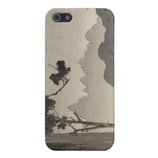 Bell hanging from a tree - Japanese Woodblock Case For iPhone 5