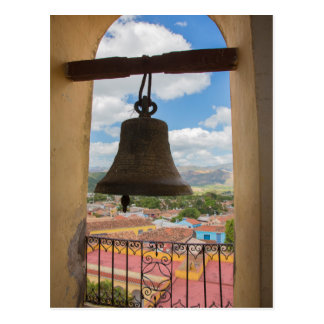 Bell in a church tower, Cuba Postcard