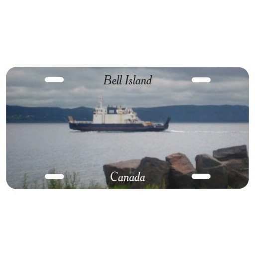 Bell Island Canada License Plate Cover License Plate