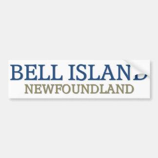 Bell Island Newfoundland Bumper Sticker