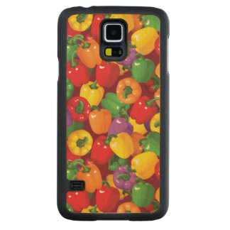 Bell Pepper Pattern Carved Maple Galaxy S5 Case