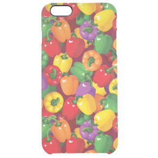 Bell Pepper Pattern Clear iPhone 6 Plus Case