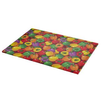 Bell Pepper Pattern Cutting Board