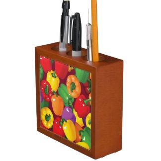 Bell Pepper Pattern Desk Organiser