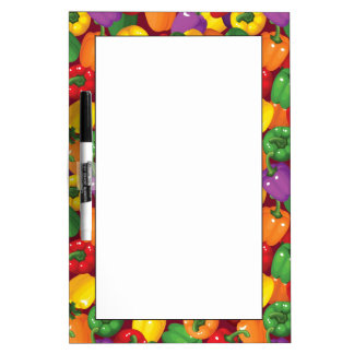 Bell Pepper Pattern Dry Erase Board