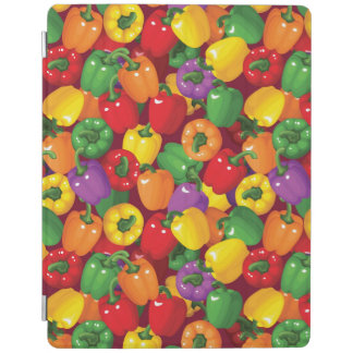 Bell Pepper Pattern iPad Cover