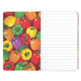 Bell Pepper Pattern Journal