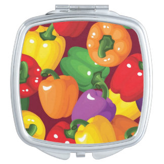 Bell Pepper Pattern Mirror For Makeup
