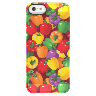 Bell Pepper Pattern Permafrost® iPhone SE/5/5s Case