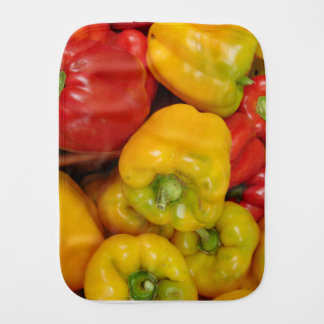 Bell Peppers Baby Burp Cloth