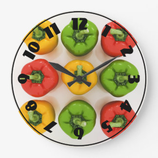 Bell Peppers Clock