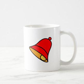 Bell Red Left 45 deg The MUSEUM Zazzle Gifts Basic White Mug