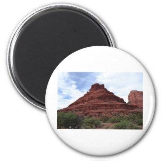Bell Rock 6 Cm Round Magnet