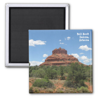 Bell Rock, Sedona, Arizona Square Magnet