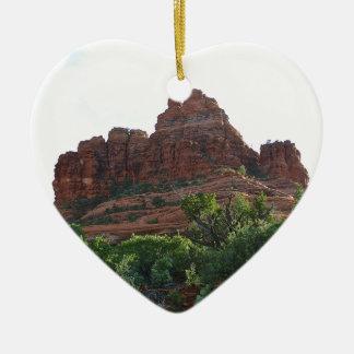 Bell Rock Sedona Christmas Ornament