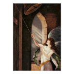 BELL TOWER ANGEL POSTER