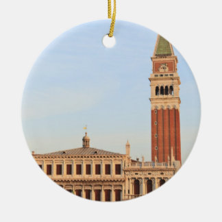 Bell Tower, Piazza San Marco, Venice Christmas Ornament