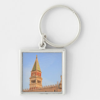 Bell Tower, Piazza San Marco, Venice, Italy Key Ring