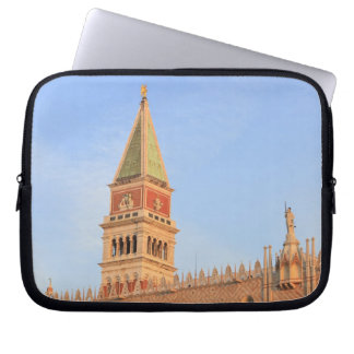 Bell Tower, Piazza San Marco, Venice, Italy Laptop Sleeve