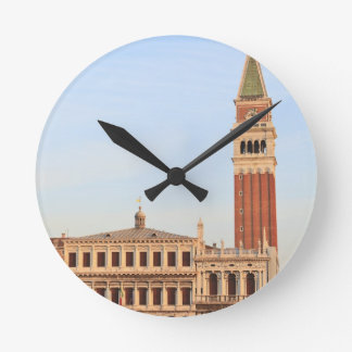 Bell Tower, Piazza San Marco, Venice Round Clock